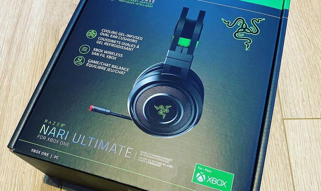 Bientôt en test sur @Xboxlive.fr Le casque Razer Nari Ultimate. #razer #nari #ultimate #czsque #headset #hypersense #hap…