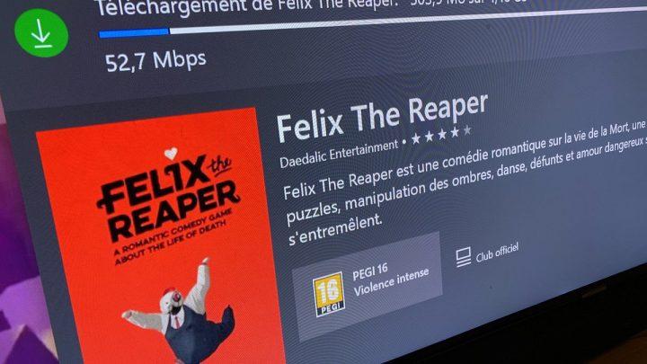 Ça vous dit un Live sur #FelixTheReaper en deuxième partie de soirée ? Abonnez-vous sur https://t.co/N4MmQZJKDV 😘 pour ne pas rater le départ #xboxone #XboxGamePass pic.twitter.com/FAqLPnSAvK
