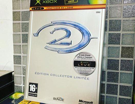 #Halo2 😍 #Collector #editionlimitée #collection #Xbox #XboxOriginal #Microsoft #2004 #Steelbook #XboxLive