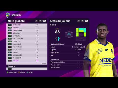 PES 2020 Master League – Gameplay – Xbox One