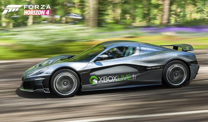 Et si nous vous lançons un défi ?Habillez vos voitures sous les couleurs de https://t.co/ePH44A0Scg sur #ForzaHorizon4 et envoyez vos photos avec le #Defi1XboxLiveFROn partagera les meilleurs !!! pic.twitter.com/VFg25NF6pS