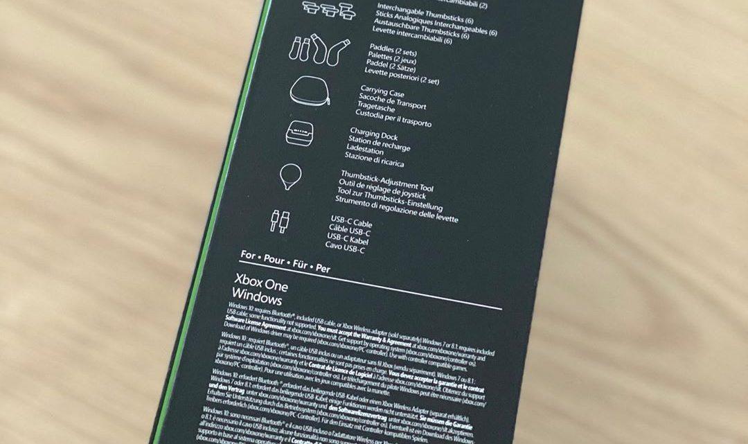 La manette #Xbox #elite2 est arrivée chez nous #XboxOne #Windows10 #XboxOneS #XboxOneX #controller #manette #box #Pro #v…