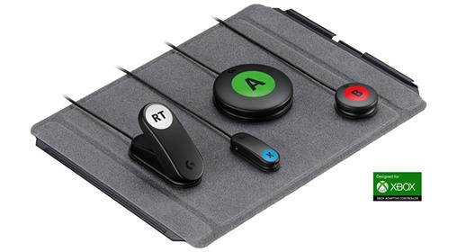 Logitech sort un kit dédié à l'Adaptative Controller de Microsoft. Un kit complet et personnalisable pour 99,99€. #TousG…