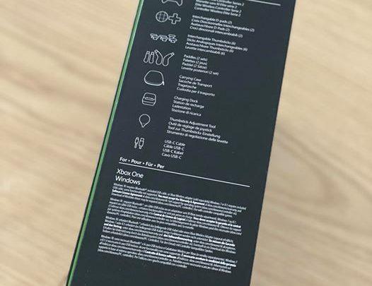 Pour ceux qui voudraient savoir ce que contient la boîte de la manette Xbox Élite Série 2.